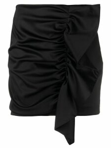 P.A.R.O.S.H. Alice ruffled mini skirt - Black
