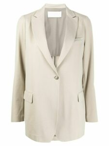 Fabiana Filippi oversized fit blazer - NEUTRALS