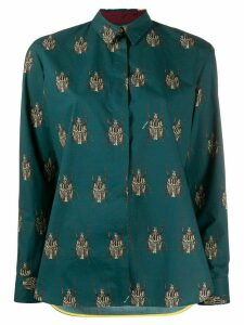 Paul Smith beetle print shirt - Green