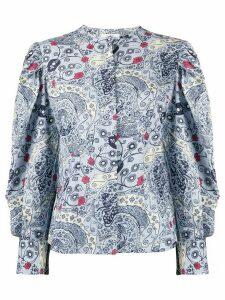 Isabel Marant Étoile Unatil floral-print blouse - Blue
