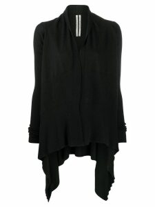 Rick Owens draped cardigan - Black