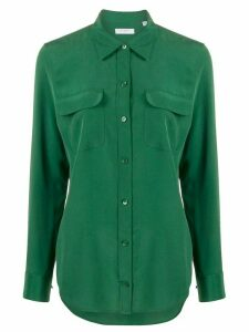 Equipment regular fit chest pocket shirt - Green