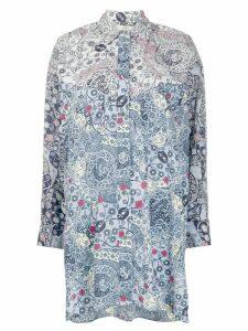 Isabel Marant Étoile Ussay floral print shirt - Blue