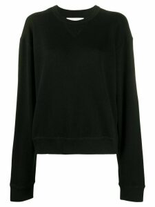 Jil Sander round neck jumper - Black