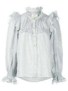 Isabel Marant Étoile Atedy ruffle trim blouse - Grey