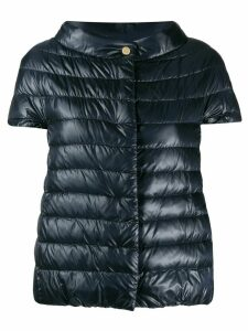 Herno Great short-sleeved down jacket - Blue