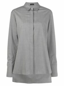 Joseph step-hem shirt - Grey