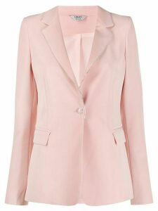 LIU JO single breasted blazer - PINK