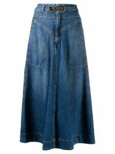 Pinko Pheonix denim skirt - Blue