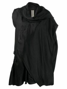 Rick Owens draped top - Black