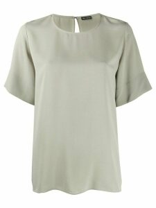 Iris Von Arnim short sleeve loose fit top - NEUTRALS