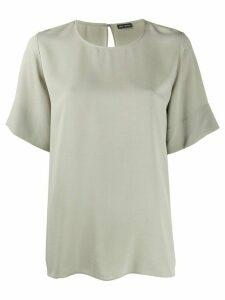 Iris Von Arnim short sleeve loose fit top - NEUTRALS
