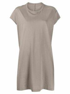 Rick Owens longline T-shirt - Grey