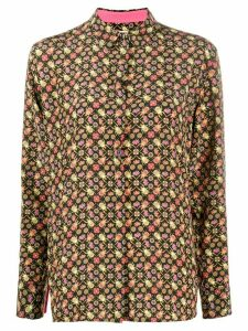 Paul Smith beetle and flora print shirt - Black