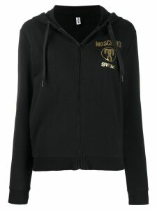 Moschino Swim zipped hoodie - Black