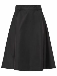 Prada nylon gabardine skirt - Black