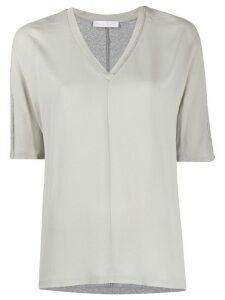 Fabiana Filippi ball-chain detail T-shirt - NEUTRALS