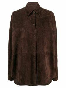 Loewe suede shirt - Brown