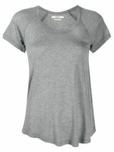 Isabel Marant Étoile lightweight U-neck T-shirt - Grey