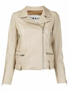 S.W.O.R.D 6.6.44 Impact zipped jacket - NEUTRALS