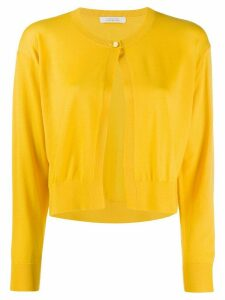 Dorothee Schumacher cropped knit cardigan - Yellow