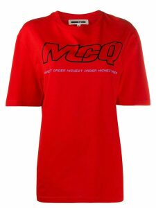 McQ Alexander McQueen logo print T-shirt - Red