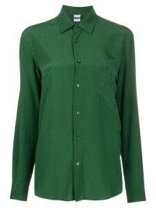 Aspesi silk button-up shirt - Green