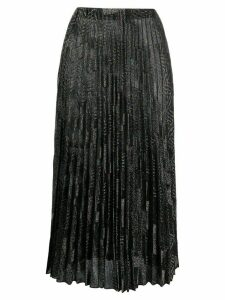 M Missoni zig-zag pleated shirt - Black
