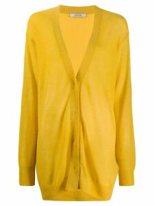 Dorothee Schumacher oversize knit cardigan - Yellow