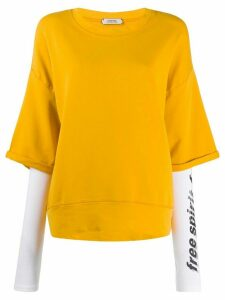 Dorothee Schumacher dropped-shoulder sweatshirt - Yellow