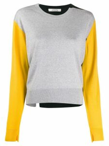 Dorothee Schumacher colour-block knitt jumper - Yellow