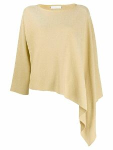 Fabiana Filippi asymmetric loose-fit jumper - Yellow