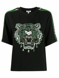 Kenzo Tiger embroidery relaxed-fit T-shirt - Black