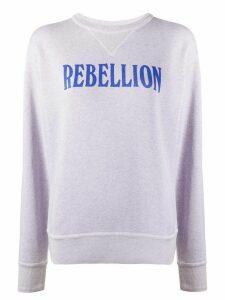 Isabel Marant Étoile Rise oversized sweatshirt - PURPLE