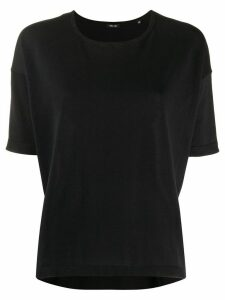 Aspesi loose-fit cotton T-shirt - Black