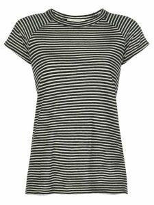 Nili Lotan striped print T-shirt - Black