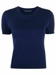 Alberta Ferretti fine knit top - Blue