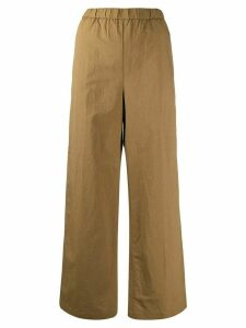Aspesi striped pull-on trousers - Brown
