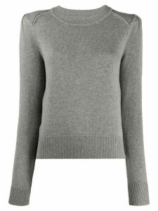 Isabel Marant Étoile Kleely crew-neck jumper - Grey