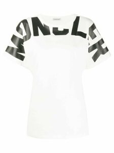 Moncler logo T-shirt - White