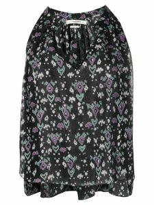 Isabel Marant Étoile Ryson geometric print blouse - Black