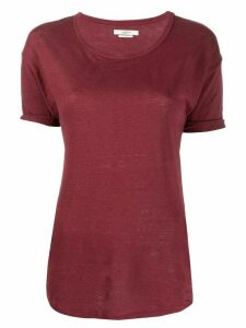 Isabel Marant Étoile Koldi crew neck T-shirt - Red