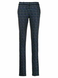 Victoria Beckham ankle split trousers - Black