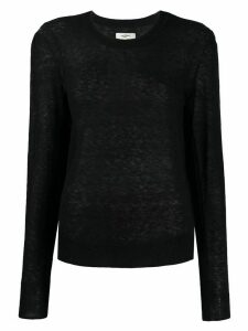 Isabel Marant Étoile Fania sheer jumper - Black