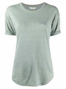 Isabel Marant Étoile Koldi crew neck T-shirt - Green