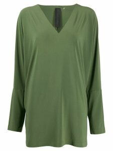 Norma Kamali long sleeve blouse - Green