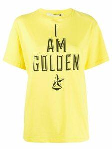 Golden Goose I Am Golden T-shirt - Yellow