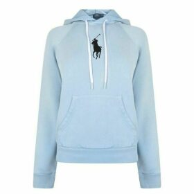 Polo Ralph Lauren Polo Womens Large Logo Hooded Sweatshirt