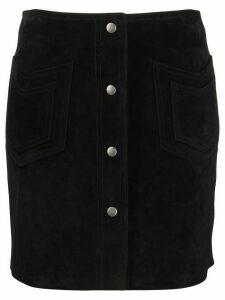 Saint Laurent SAINT LAURENT 602763YC2AY 1000 Calf Leather - Black