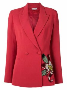 Martha Medeiros embroidered blazer